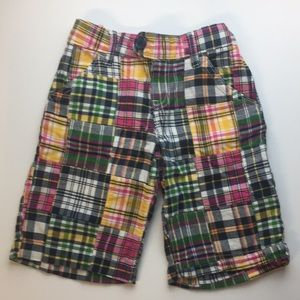 Plaid Bermuda Shorts - ON 8